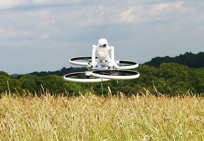 Hoverbike Drone
