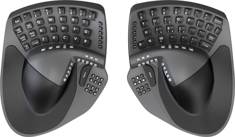 d406a57a4b7 Keymouse: Wireless Integrated Keyboard & Mouse!